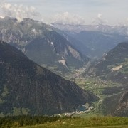 View from above Verbier