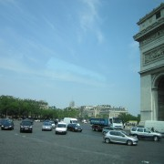 Arc de Triomphe traffic