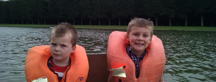 Boating on the Grand Canal
